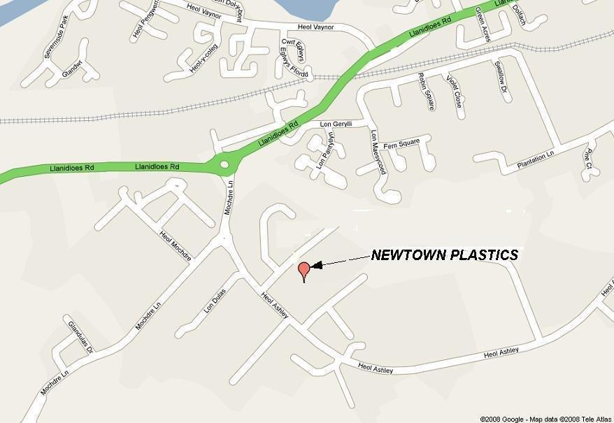 Location Map (local area of Newtown)